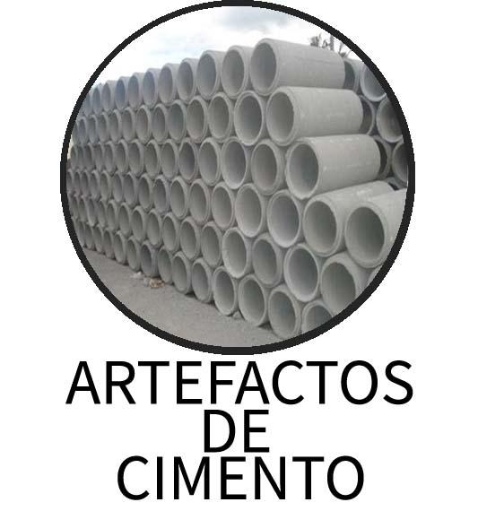ARTEFACTOS DE CIMENTO